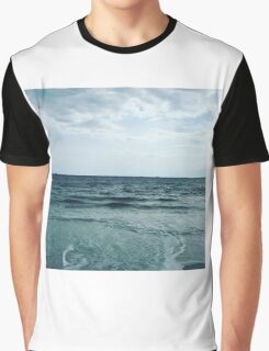 Blue skies and ocean waves are the best kind of days  Graphic T-Shirt