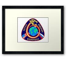 ISS Mission  Framed Print