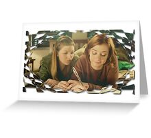 Tara Buffy Willow 5 Greeting Card