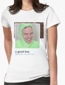 Idubbbz Follows You Womens Fitted T-Shirt