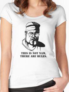 Walter Sobchak Women's Fitted Scoop T-Shirt