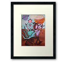 Ladies Of Mars Framed Print