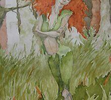 The Horned Girl by dirtfaery