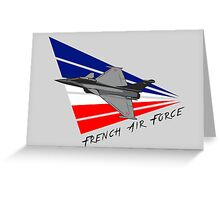 French Air Force Greeting Card