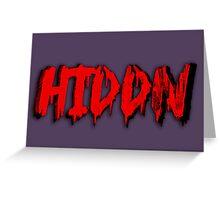 Hiddn Greeting Card