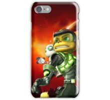 RATCHET CLANK ON ACTION iPhone Case/Skin
