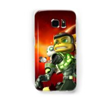 RATCHET CLANK ON ACTION Samsung Galaxy Case/Skin