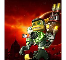 RATCHET CLANK ON ACTION Photographic Print