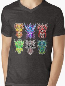 The Six Gods Mens V-Neck T-Shirt