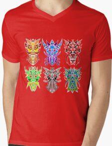 The Six Gods Mens V-Neck T-Shirt