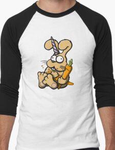 Charlie - The Last Bunnicorn Men's Baseball ¾ T-Shirt