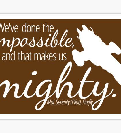 Firefly Shirt Sticker