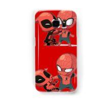 Deadpool & Spiderman Samsung Galaxy Case/Skin