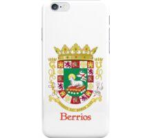 Berrios Shield of Puerto Rico iPhone Case/Skin