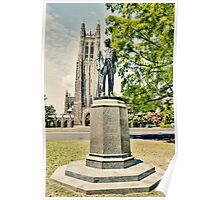 Duke Statue and Chapel Poster