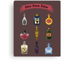 Moste Potente Potions Canvas Print