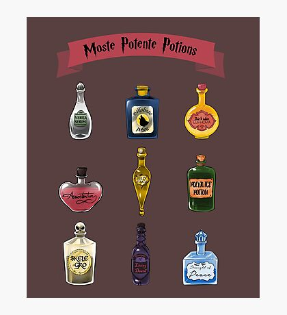 Moste Potente Potions Photographic Print