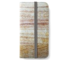 Wooden Chopping Board Texture iPhone Wallet/Case/Skin