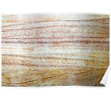 Wooden Chopping Board Texture Poster