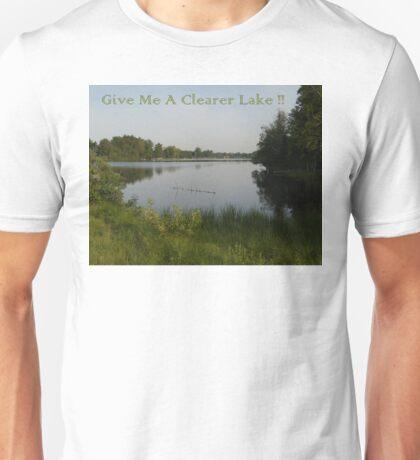 Clearer Lake Unisex T-Shirt