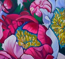 Jill's Peony by Lori Elaine Campbell