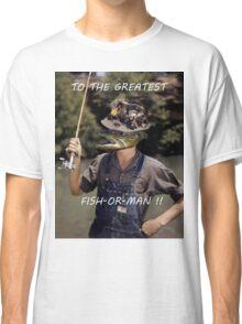 Fish or Man Classic T-Shirt