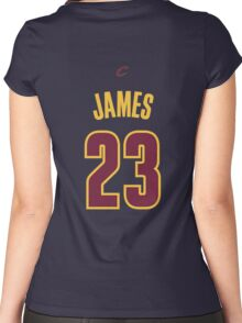 Lebron  James Women's Fitted Scoop T-Shirt