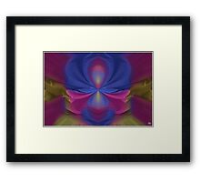Painted Sheets Abstract No 8 Framed Print