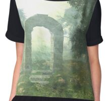 Portal to the Unknown. Chiffon Top