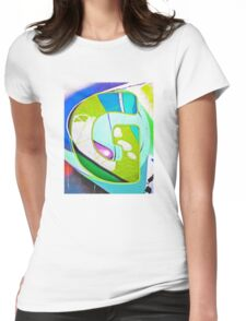 Urban Alphabet G Womens Fitted T-Shirt