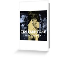 ten yard fight hardcore pride Greeting Card