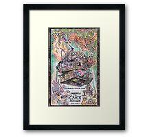 Avengers in the Woods Framed Print