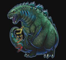 Godzilla Chibi by Julia Lichty