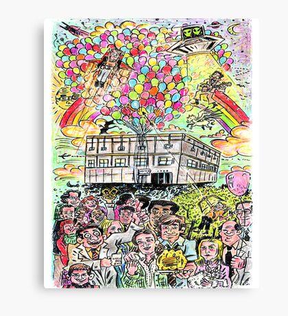 Farewell Dunder Mifflin Canvas Print