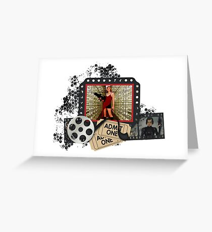 Resident Evil Milla Jovovich Greeting Card