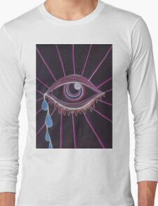Trippy Eye Long Sleeve T-Shirt