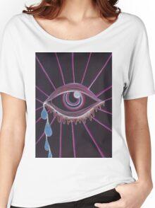 Trippy Eye Women's Relaxed Fit T-Shirt