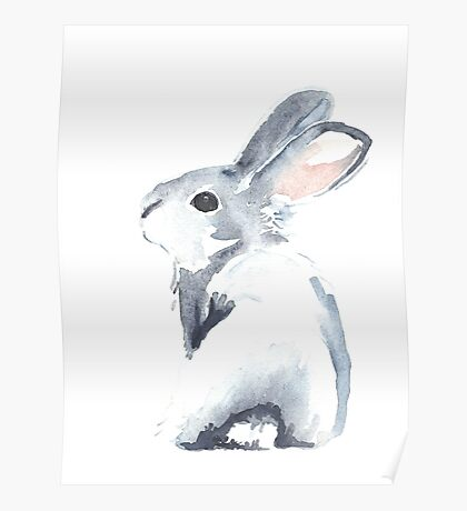 Moon Rabbit I Poster