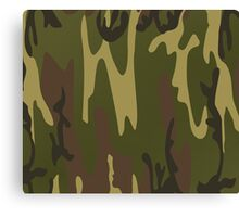 Army Camo Camouflage Pattern  Canvas Print
