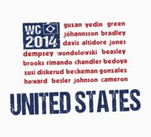 United States WC 2014 by Bergsjo