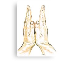 Clapping Hands Metal Print