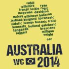Australia WC 2014 by Bergsjo