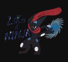 Like A Ninja ~ Shiny by Novanator