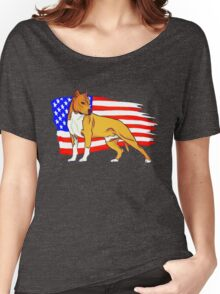 American Staffordshire Women's Relaxed Fit T-Shirt