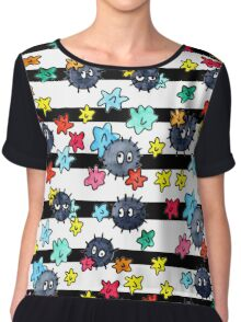 Soot Sprites With Star Candy Chiffon Top