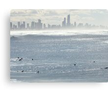 A Surfer's Paradise Canvas Print