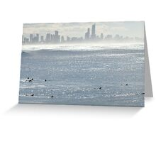 A Surfer's Paradise Greeting Card