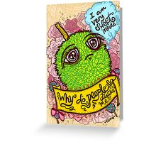 Spiky Sweetness Greeting Card