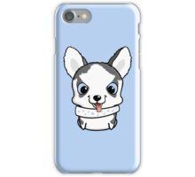 Cute little siberian husky puppy iPhone Case/Skin