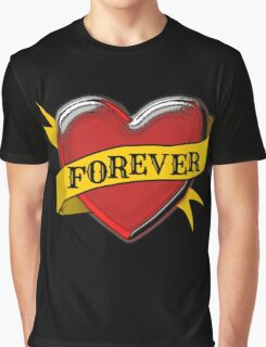 Tattoo Heart  Graphic T-Shirt